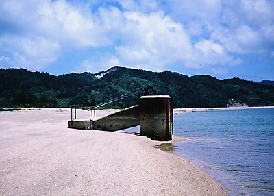 Okuma - Beach at military rest area