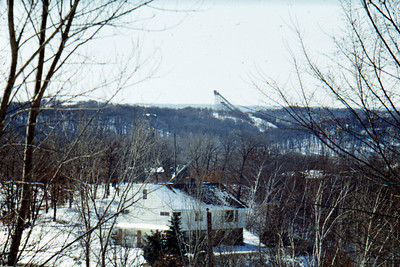 1969 - Spring - Hyland Park ski jump - Bloomington, MN