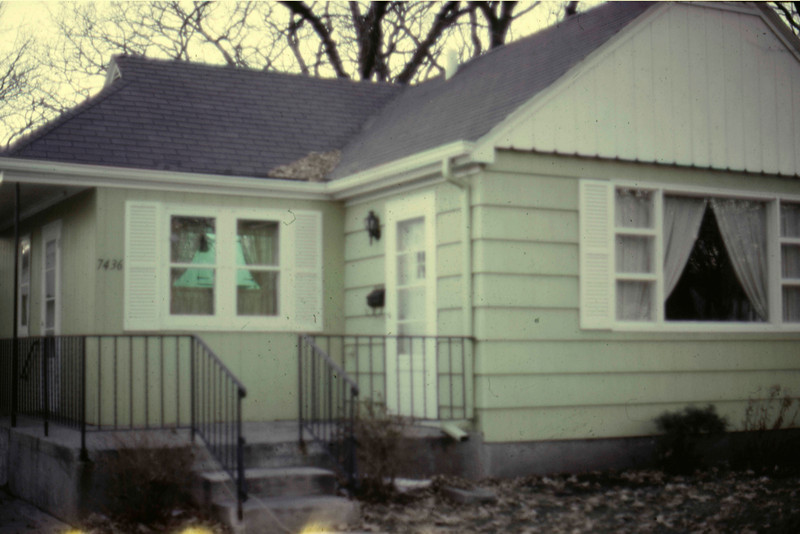 1969 - home at 7436 Fremont Ave., Richfield, MN