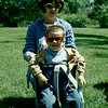 1969 - Spring - Jo and Randy in Highland Park - Bloomington MN