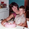 1973-07 - Jo & Jeffrey on his 4th BD