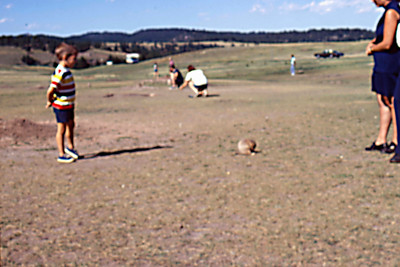 1973-09 - Jeff at Groundhog Village in Custer State Park, SD