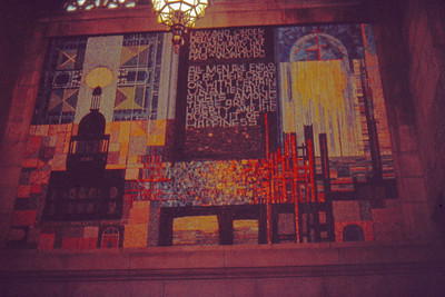 1973-09 - Wall in Nebraska State Capital