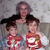 1973-12 - Jeffrey & Randy with Grandma Voas