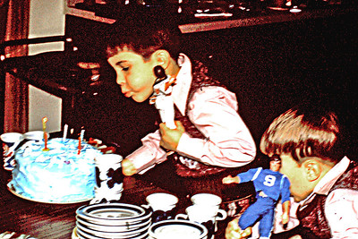 1973-01 - Randy's birthday cake