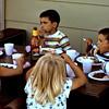 1973-07-04 - Kids at backyard picnic