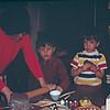 1974-02 - Fun with clay - Jo, Randy, Jeff