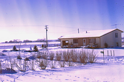 1974-02 - Neighbor's house - Dakota city, NE