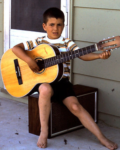 1973-07 - Randy with guitar