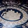 1973-09 - Rotunda floor at Nebraska State Capital building