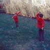 1973-09 - Jeff & Randy in back yard