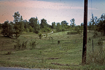 1974 - Lot before excavation