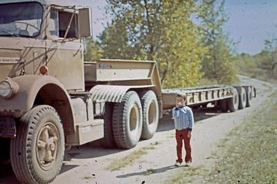 1974 - Dozer truck & Jeff