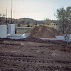1974-10 - Foundation completed and backfilled in back yard