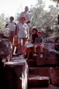 1975-07 - Pipestone, MN - Randy Opal John Jo Jeff