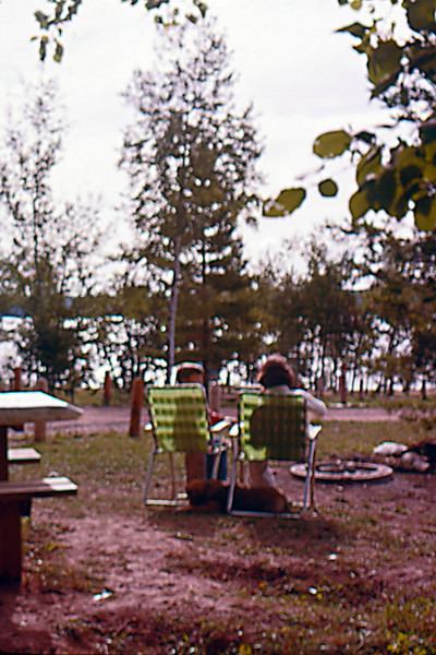 1975-08 - Camping at state park on St Croix River