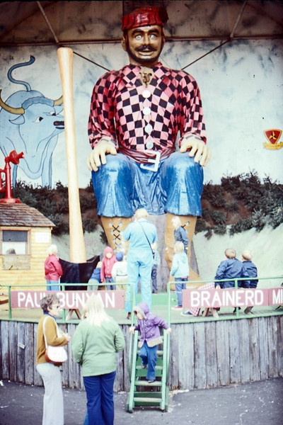 1974-09 - Checking out Paul Bunyan