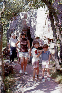 1975-07 - Pipestone National Monument - John Jo Randy Jeff