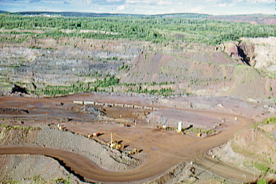 1974-09 - MN Open pit iron mine