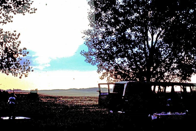 Camping in Nebraska sandhills