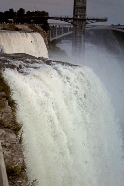 Niagara Falls close-up