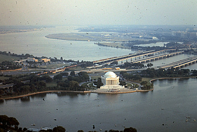 View of Jefferson Memorial from Washington Monument