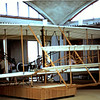 Reconstruction of original plane at Kitty Hawk museum.