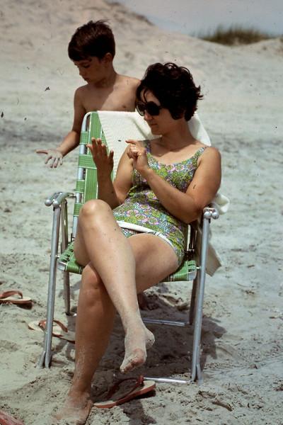 Jo & Jeff enjoy Outer Banks, NC beach