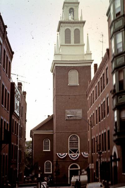 Old North Church close up