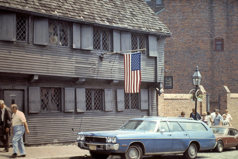Paul Revere House, MA, Boston