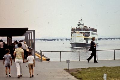 Jo, Randy & Jeff head to Statue of Liberty Ferry