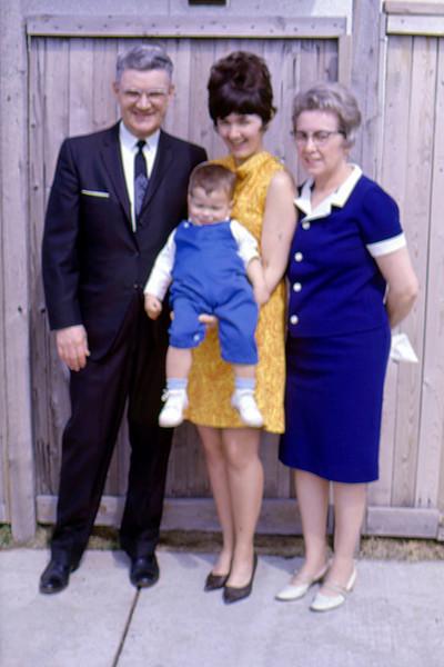 1968-06 - John Beatty, Jo with Randy, Opal Beatty