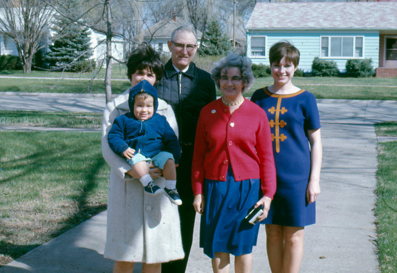1968-03 - Jo and Randy, Dick, Catherine, Milly Voas