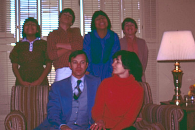 1980 - Bad self photo - front: Dwaine & Jo; back: Charlotte Randy Sharon Jeff