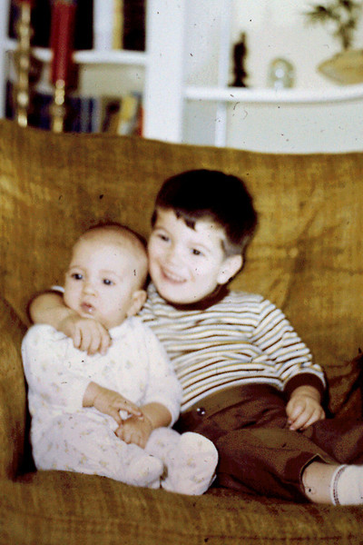 1969-12 - Jeff, 6 mo. &  Randy, 24 mo,