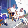 1964-10 - back of Cal Steen house - Douglas GA