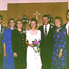 Doug and Julie Winsor, Christy Austad, Vadis, Dwaine, Tracey and Brad Bellows