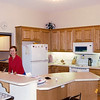 Vadis in kitchen - can look into great room