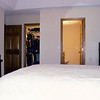 Master bedroom looking from windows
