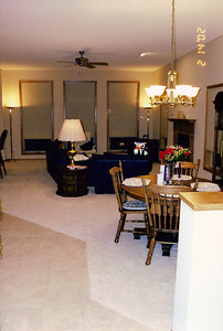 Great room from front entry-way