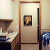 Utility room from garage entry door