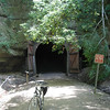 North entrance to Tunnel 1 - Elroy-Sparta Trail