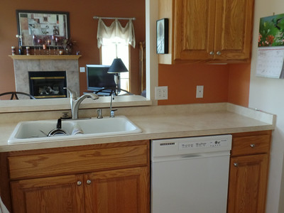 Before - Kitchen sink area