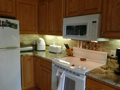 Kitchen - with appliances, etc. - all done