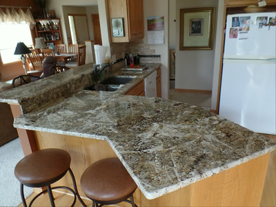 After - Kitchen counter top