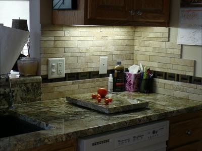 After - Kitchen sink area