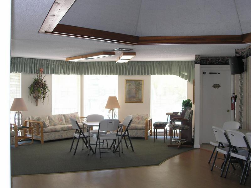 Inside Community Room