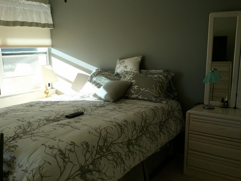 Main bedroom after painted