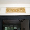 Name plate by cousin David Smith