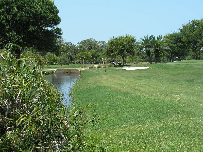Golf course from corner of building 5
